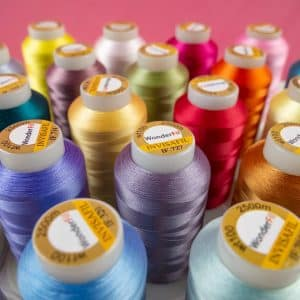 Introducing InvisaFil™ 100wt cottonized polyester thread.
