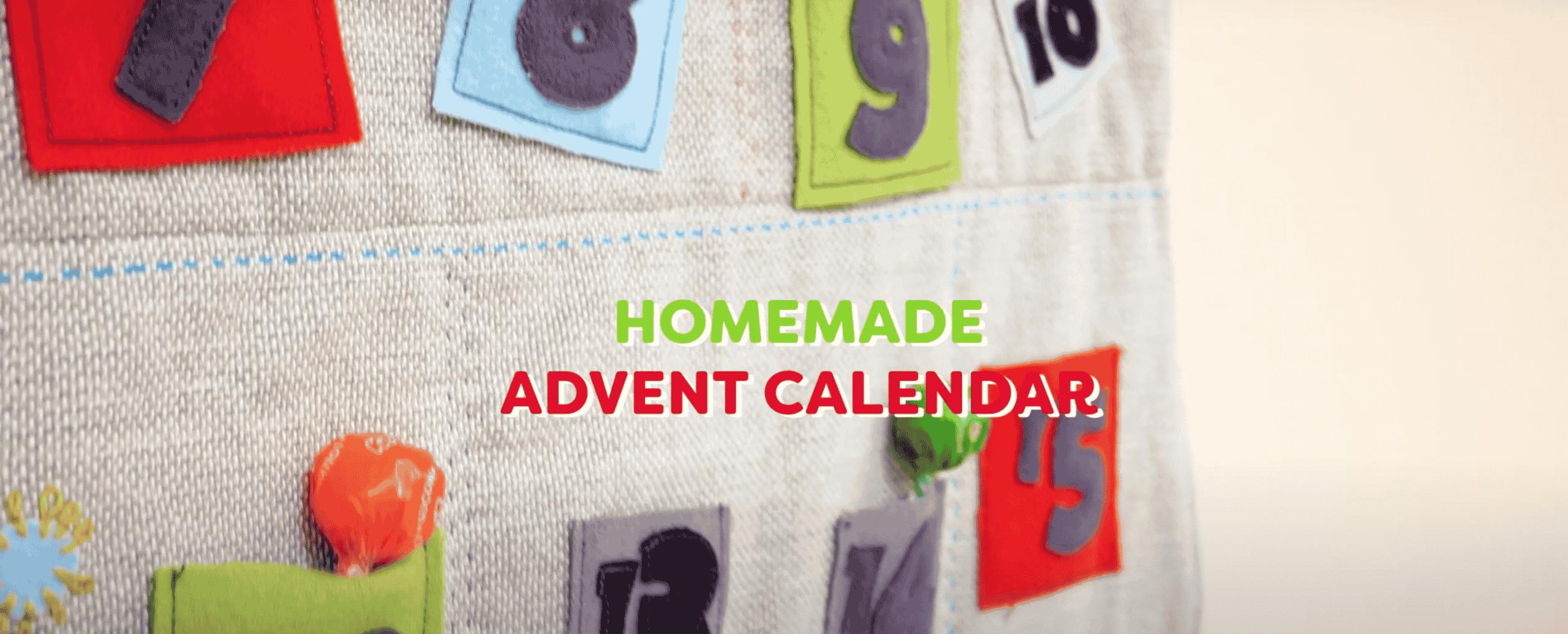 Handmade Wool Advent Calendar