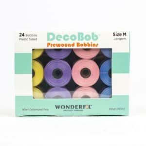 DecoBob™ – Pre-Wound Bobbins Size M