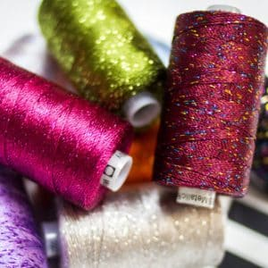 Dazzle™ - 8wt/6ply Rayon with Metallic Thread