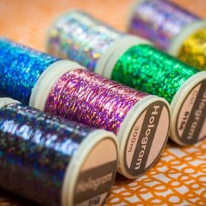 Hologram™ - Slitted Polyester Thread