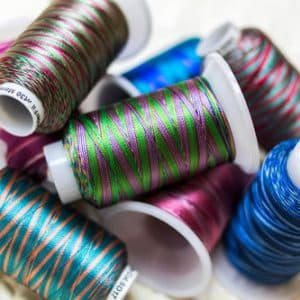 Mirage™ - 30wt Random-Dyed Rayon Thread
